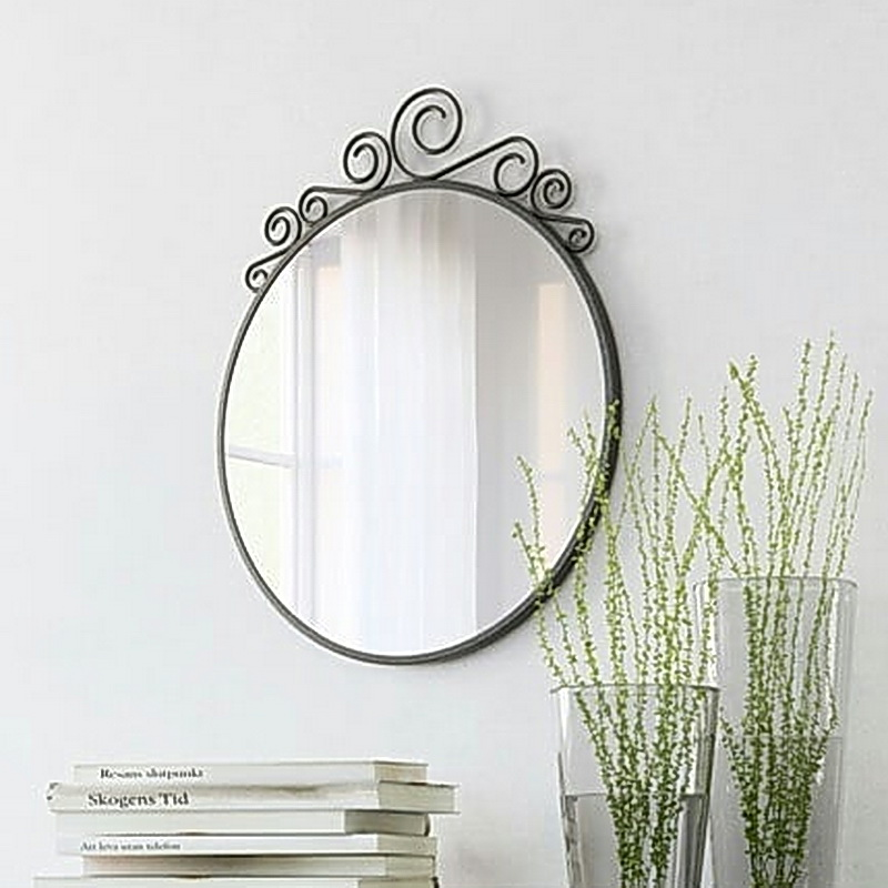 Кованое зеркало N 19010