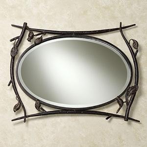Кованое зеркало N 19011