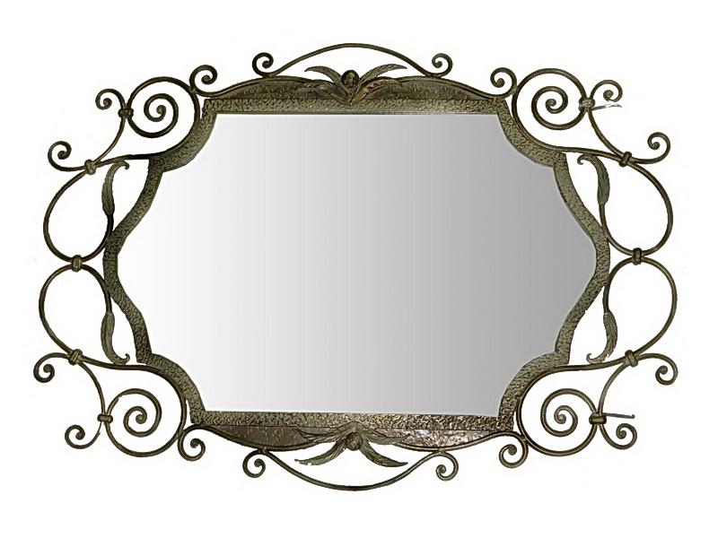 Кованое зеркало N 19013