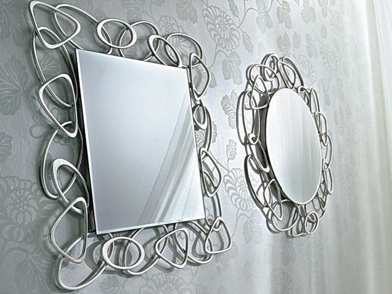 Кованое зеркало N 19015