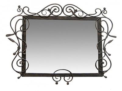 Кованое зеркало N 19024