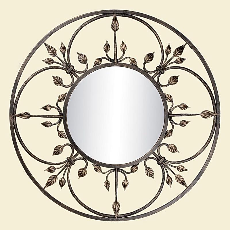 Кованое зеркало N 19034