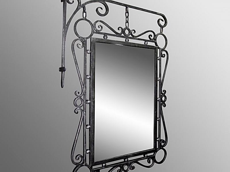 Кованое зеркало N 19035