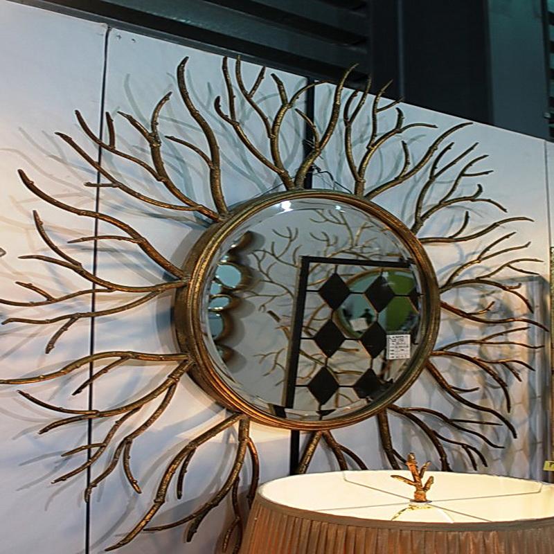 Кованое зеркало N 19040