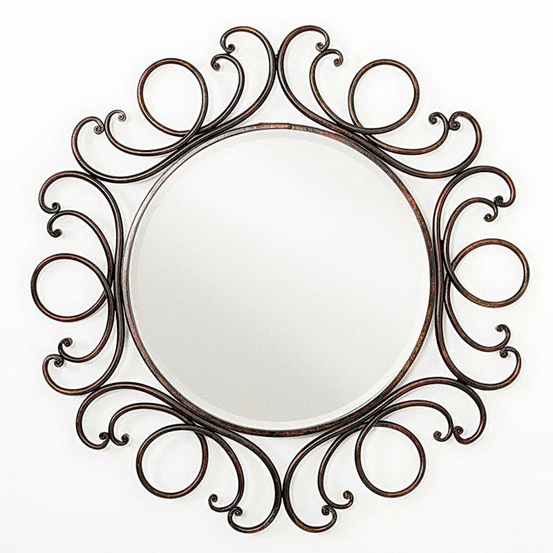 Кованое зеркало N 19047