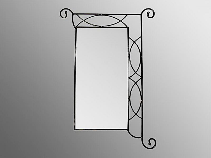 Кованое зеркало N 19050