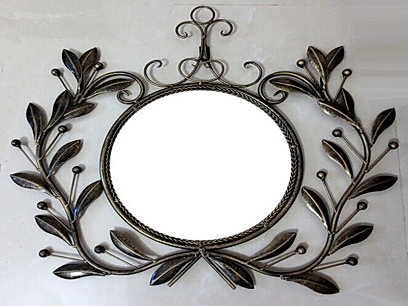 Кованое зеркало N 19051
