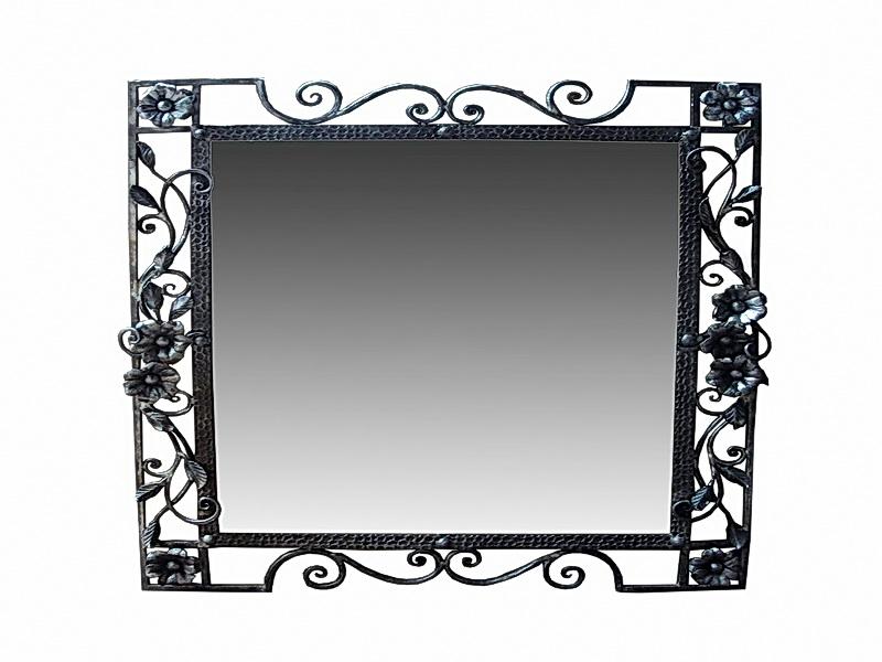Кованое зеркало N 19056