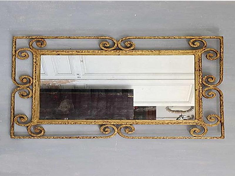Кованое зеркало N 19057