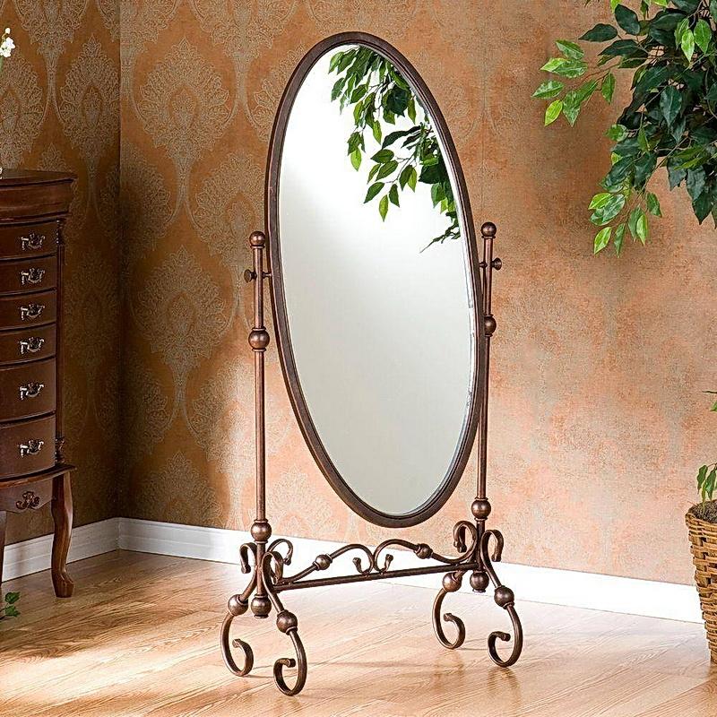 Кованое зеркало N 19060