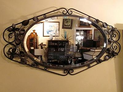 Кованое зеркало N 19069