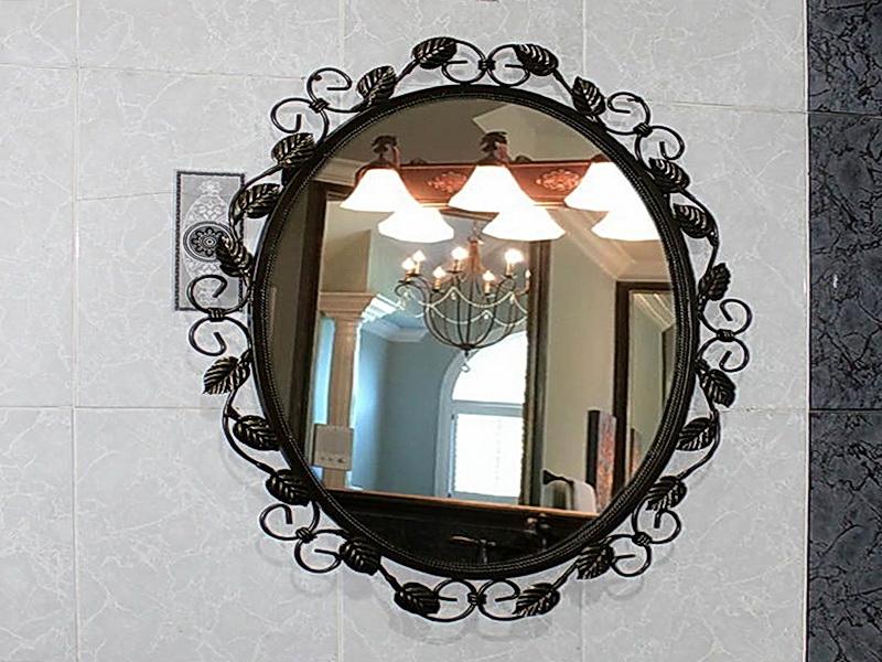Кованое зеркало N 19071