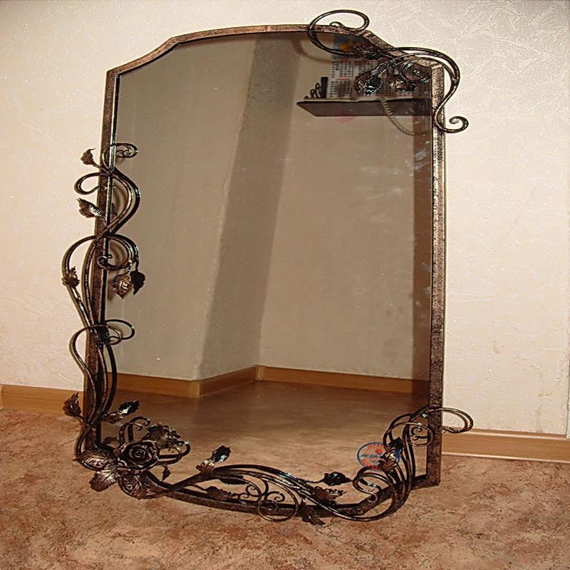 Кованое зеркало N 19072