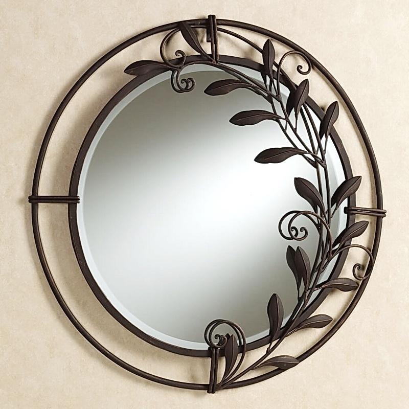 Кованое зеркало N 19076
