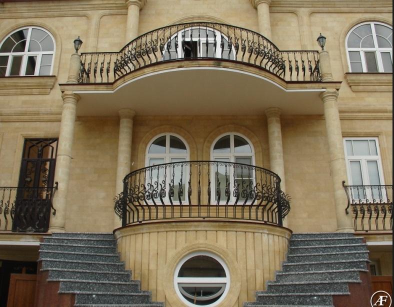 Кованые балконные ограждения N 4002