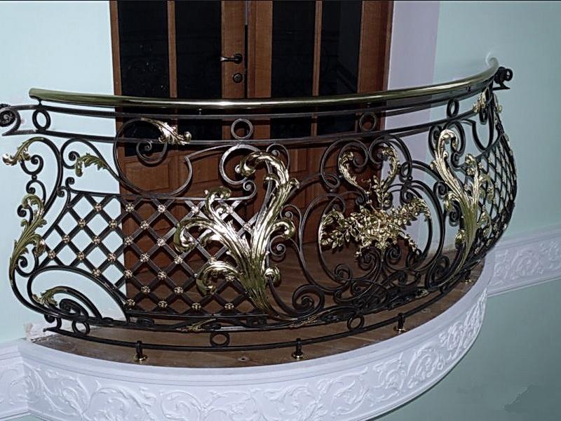 Кованые балконные ограждения N 4005