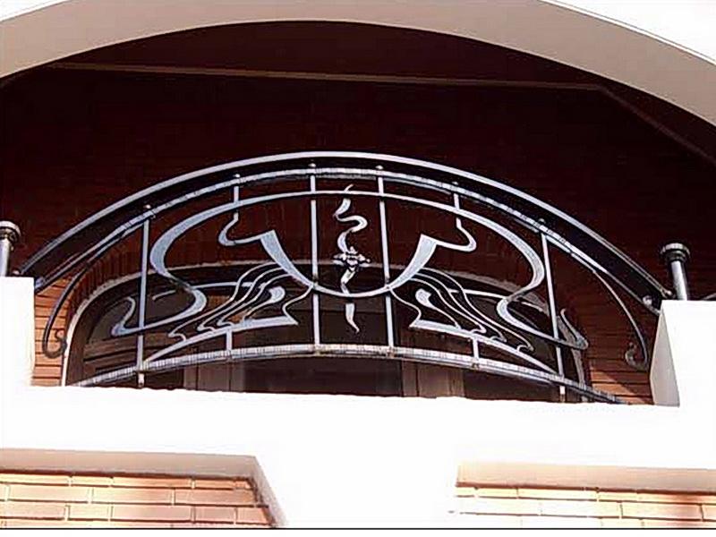 Кованые балконные ограждения N 4013