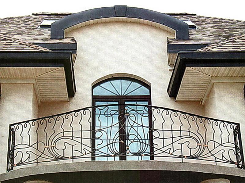Кованые балконные ограждения N 4017