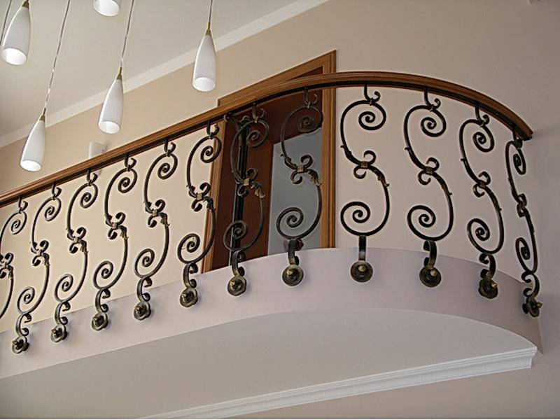 Кованые балконные ограждения N 4020