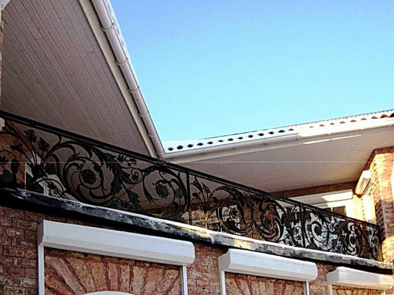 Кованые балконные ограждения N 4022