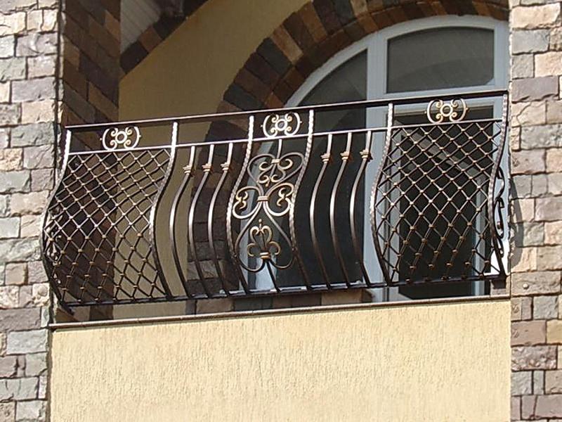 Кованые балконные ограждения N 4025