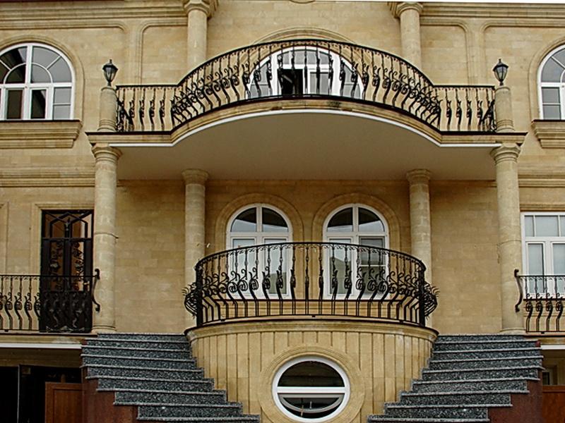 Кованые балконные ограждения N 4026
