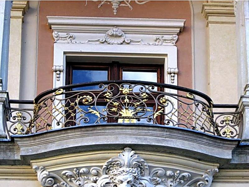 Кованые балконные ограждения N 4030