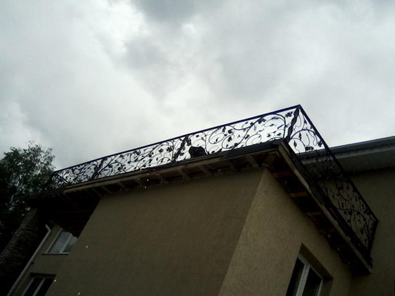Кованые балконные ограждения N 4033