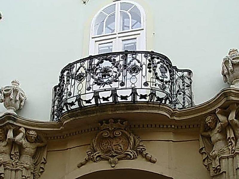 Кованые балконные ограждения N 4037