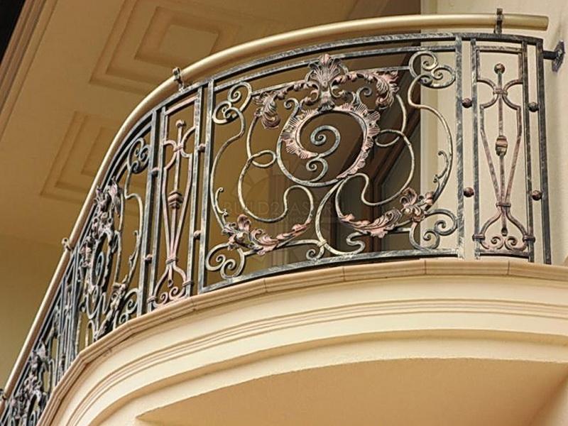 Кованые балконные ограждения N 4045
