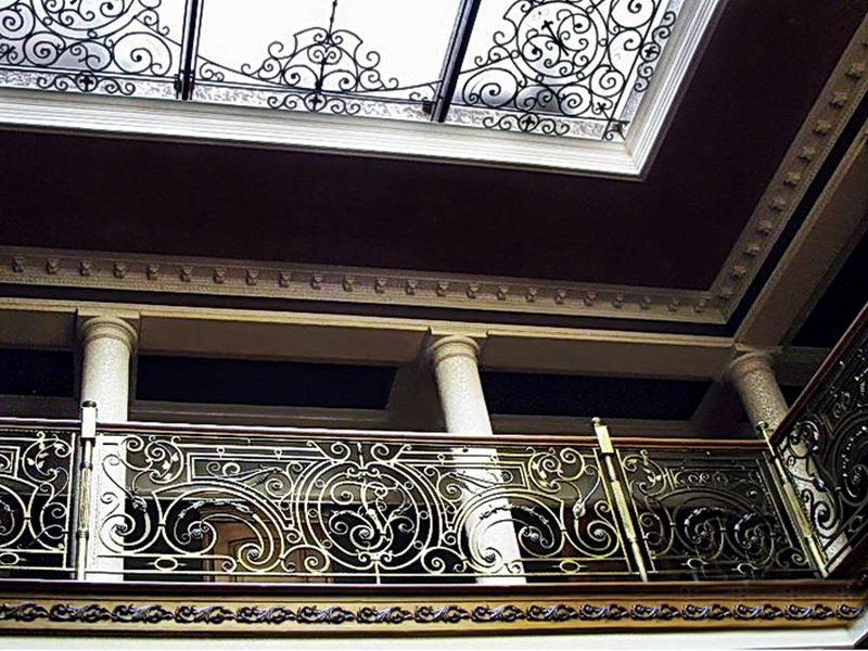 Кованые балконные ограждения N 4050