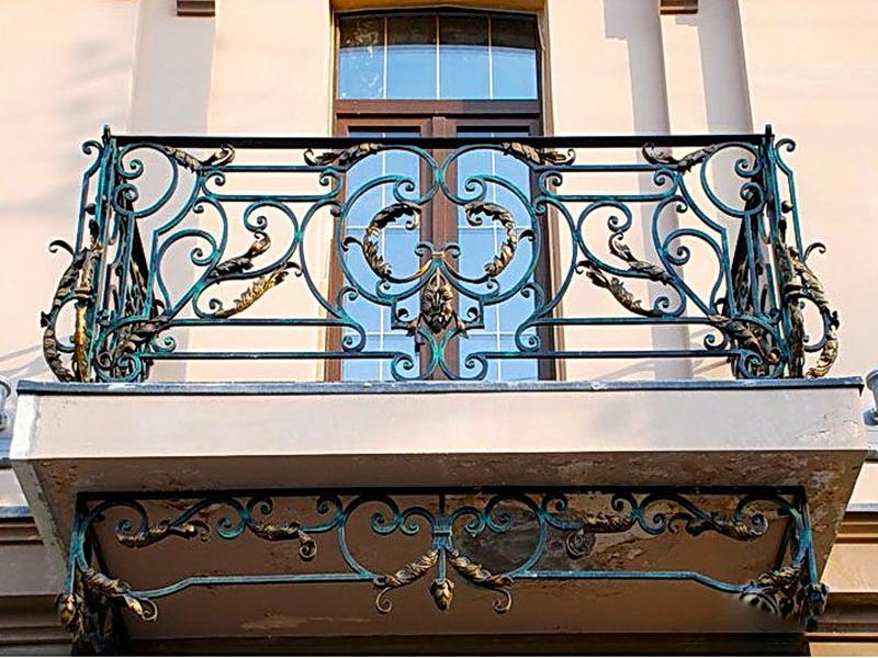 Кованые балконные ограждения N 4051
