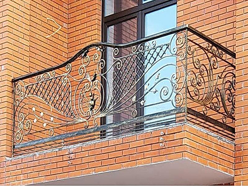Кованые балконные ограждения N 4053