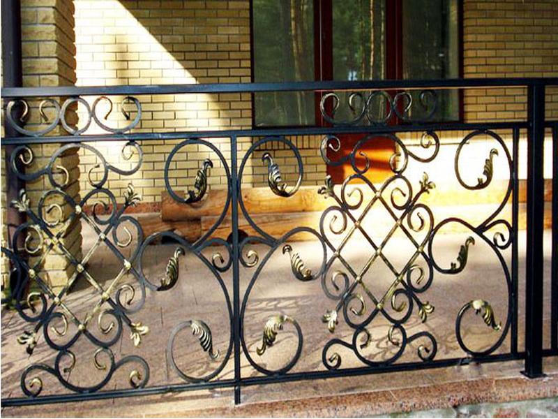 Кованые балконные ограждения N 4057