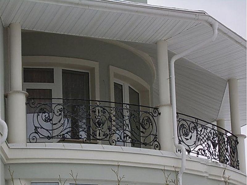 Кованые балконные ограждения N 4058