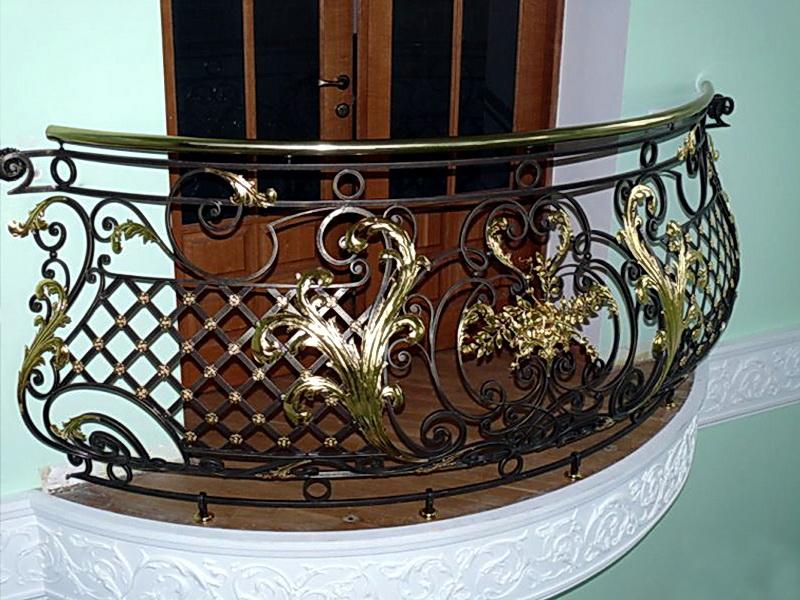 Кованые балконные ограждения N 4060