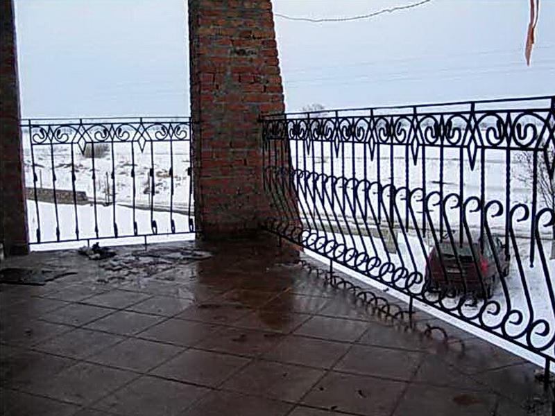 Кованые балконные ограждения N 4066