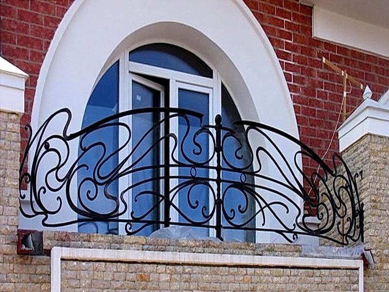Кованые балконные ограждения N 4079