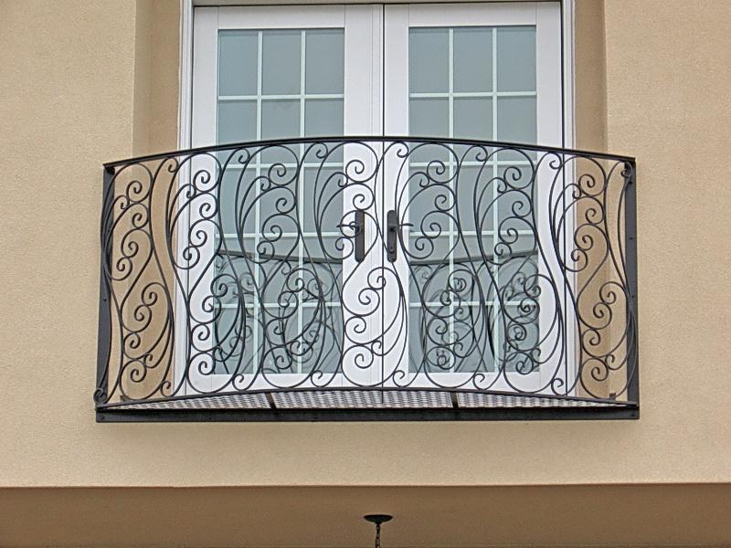 Кованые балконные ограждения N 4081