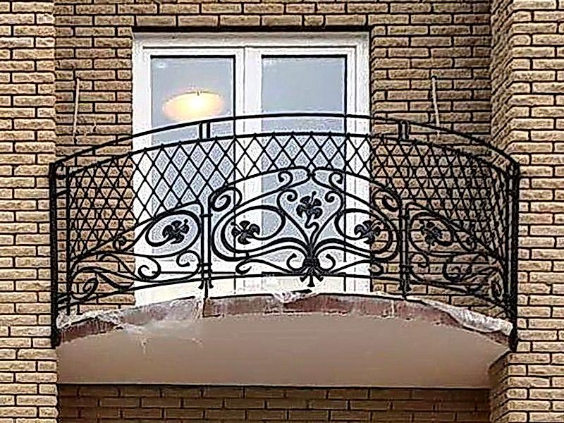 Кованые балконные ограждения N 4083