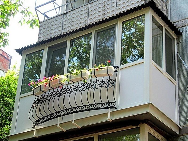 Кованые балконные ограждения N 4085