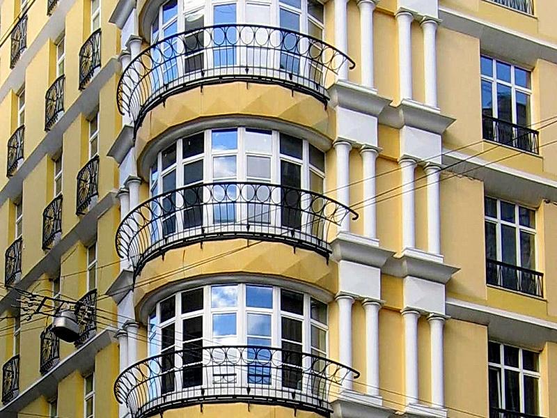 Кованые балконные ограждения N 4086