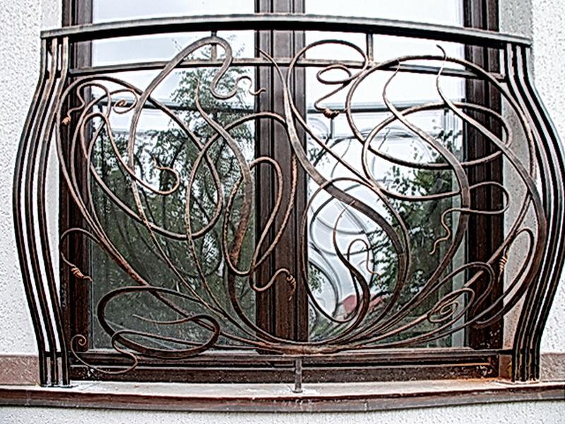 Кованые балконные ограждения N 4087