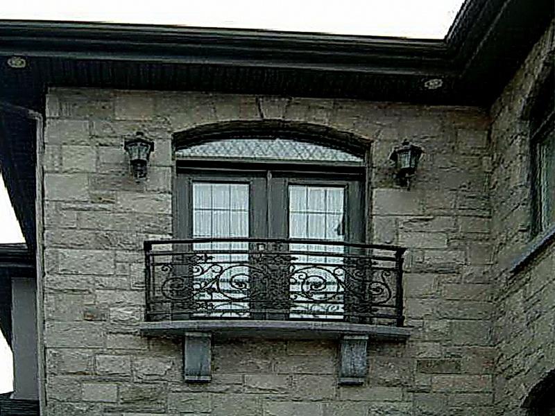 Кованые балконные ограждения N 4089
