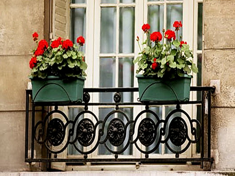 Кованые балконные ограждения N 4091