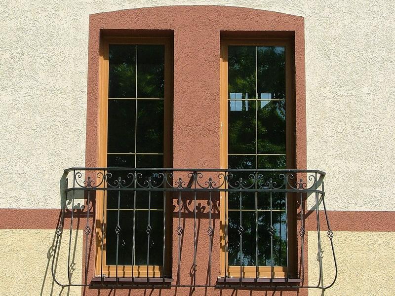 Кованые балконные ограждения N 4093
