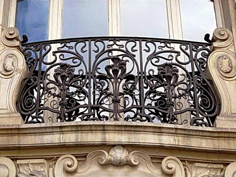 Кованые балконные ограждения N 4094