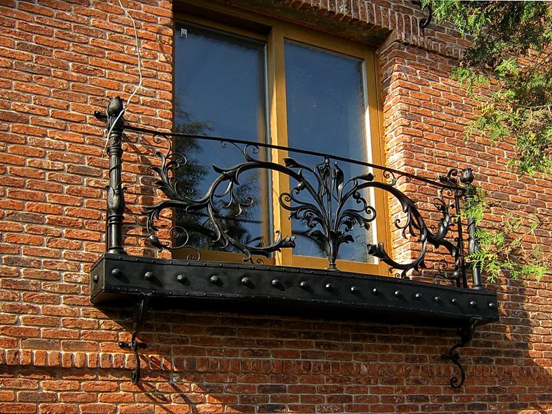 Кованые балконные ограждения N 4097