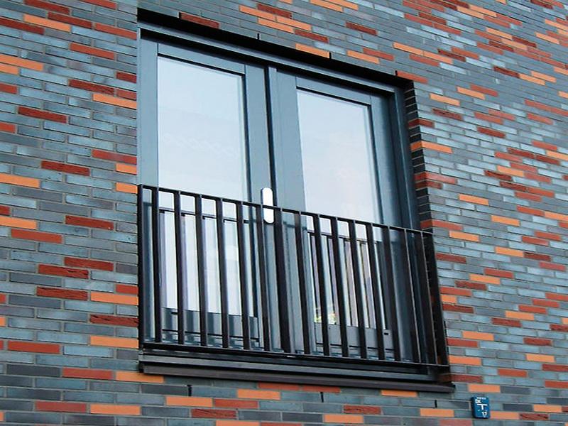 Кованые балконные ограждения N 4103