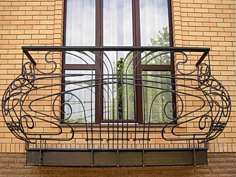 Кованые балконные ограждения N 4105
